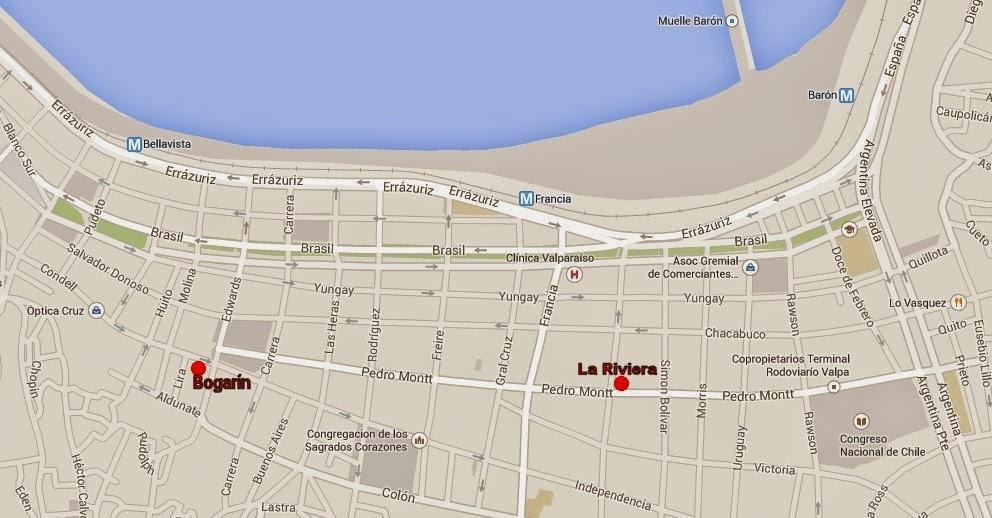 mapa bogarin la riviera valparaiso