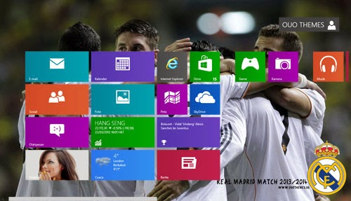 Real Madrid 2013 2014 Theme For Windows 7 And 8 8.1