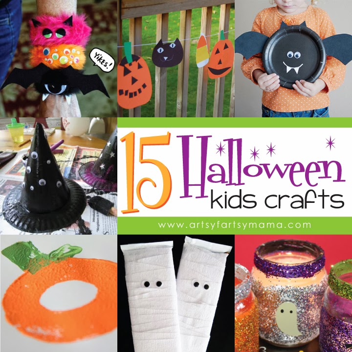 15 Halloween Kids Crafts