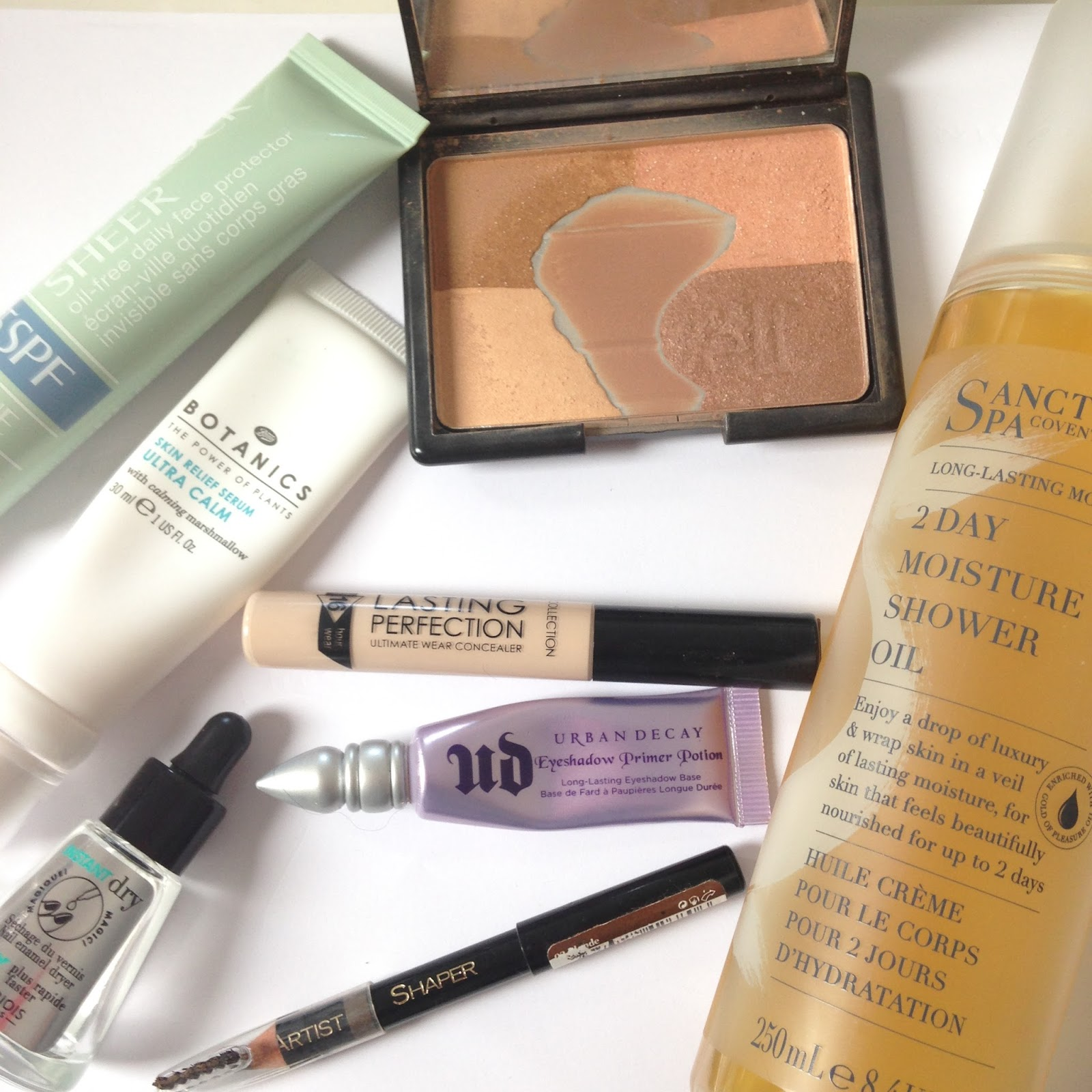 The repurchased beauty products