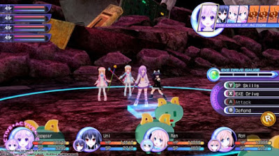 Hyperdimension Neptunia Re Birth2 Gameplay