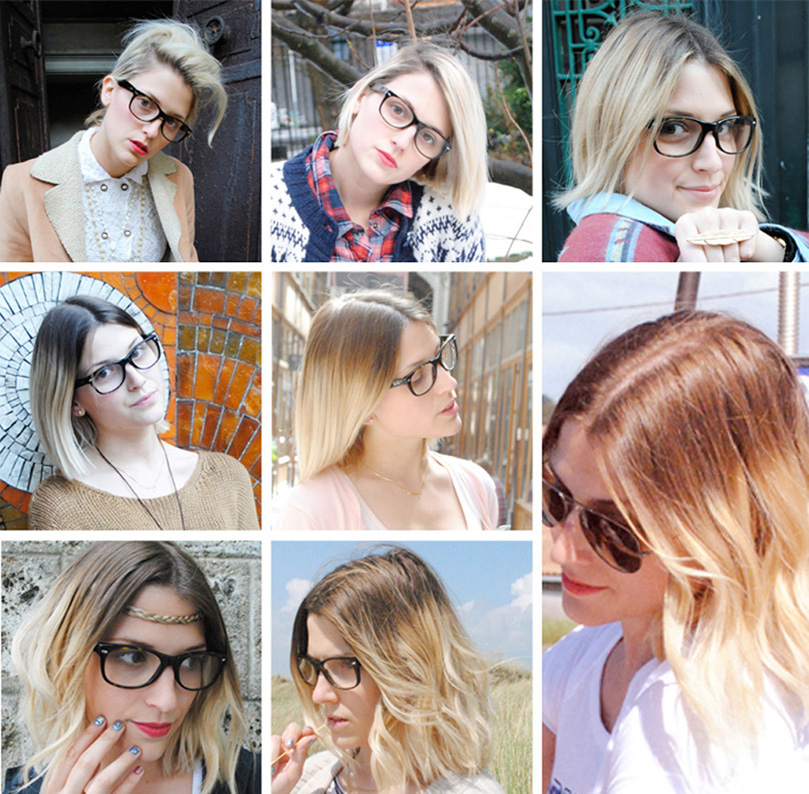 Elle le coeur diy ombr hair color trend male models picture - Tie and dye carre ...
