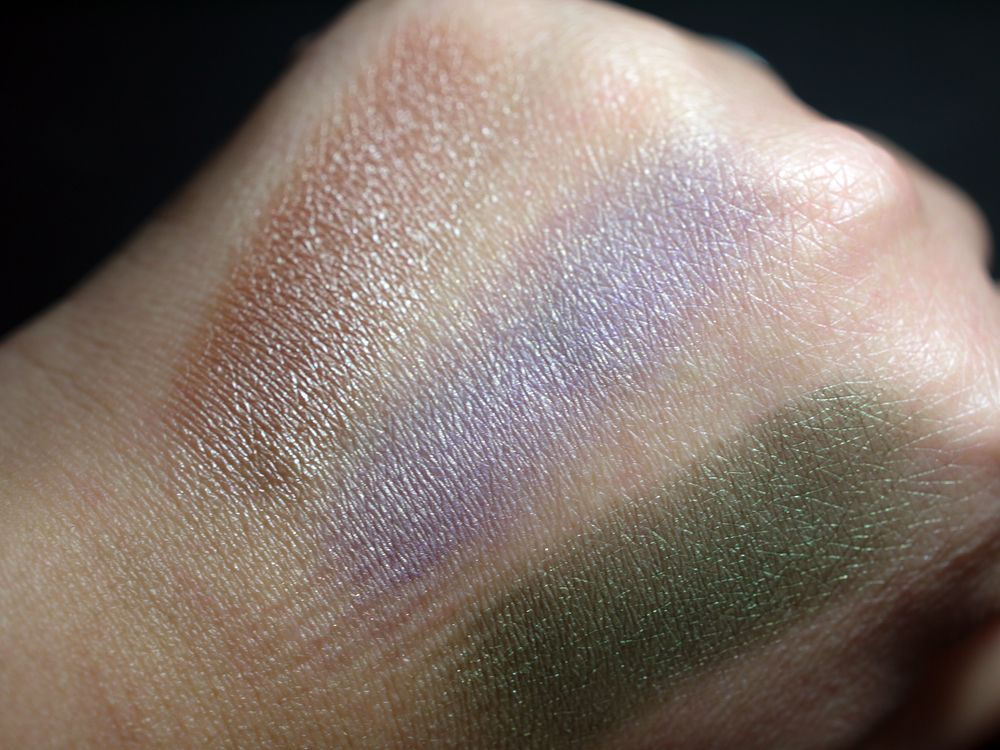 Sombras De Wet n Wild, Swatches