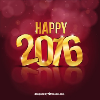 tarjetas año nuevo 2016