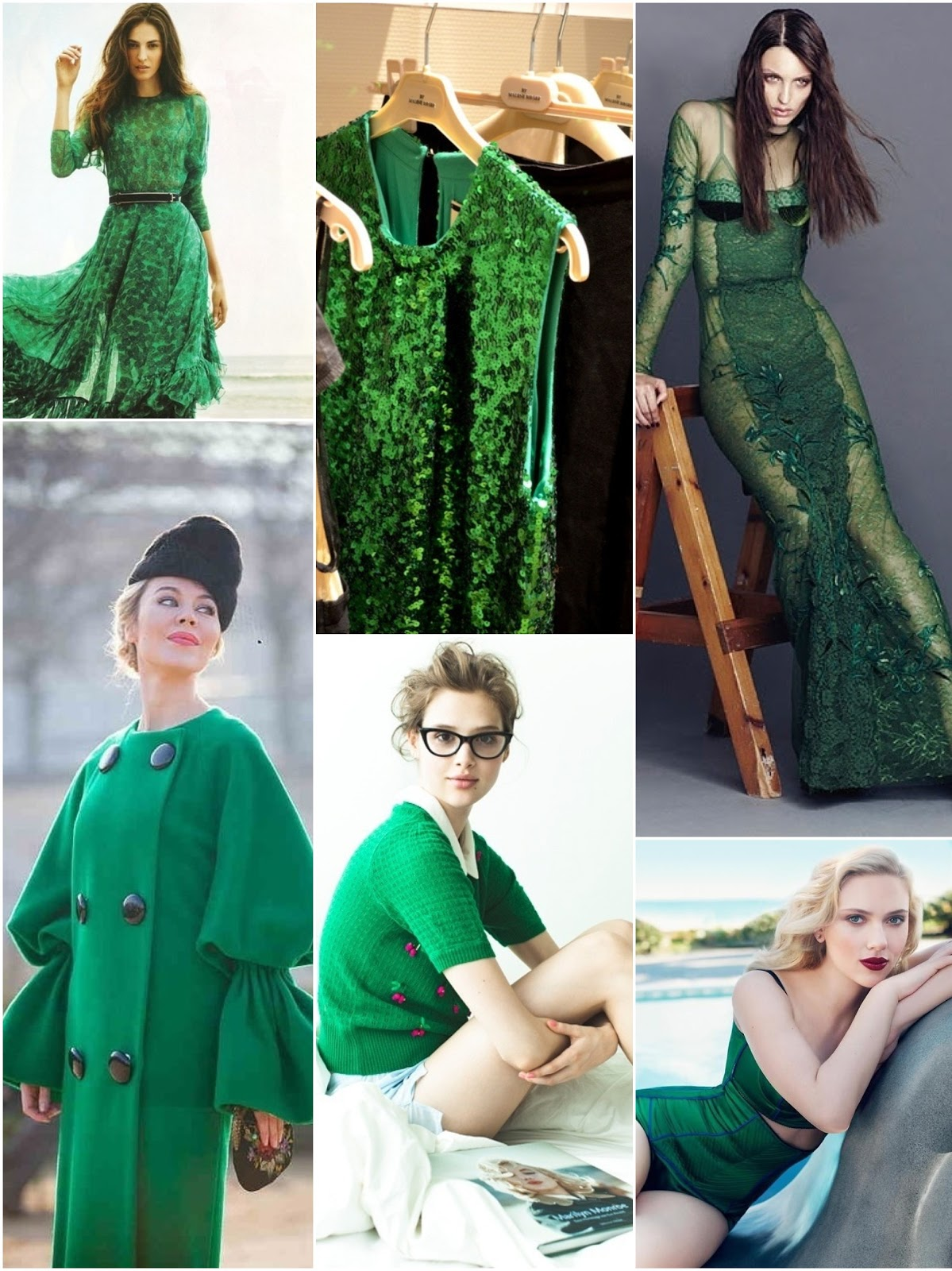The Fashion Guide Blog : Rule # 16: How to wear emerald green.