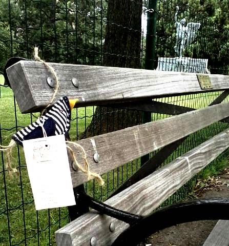 abandoned art, art abandonent, abandonedartct, fabric birds