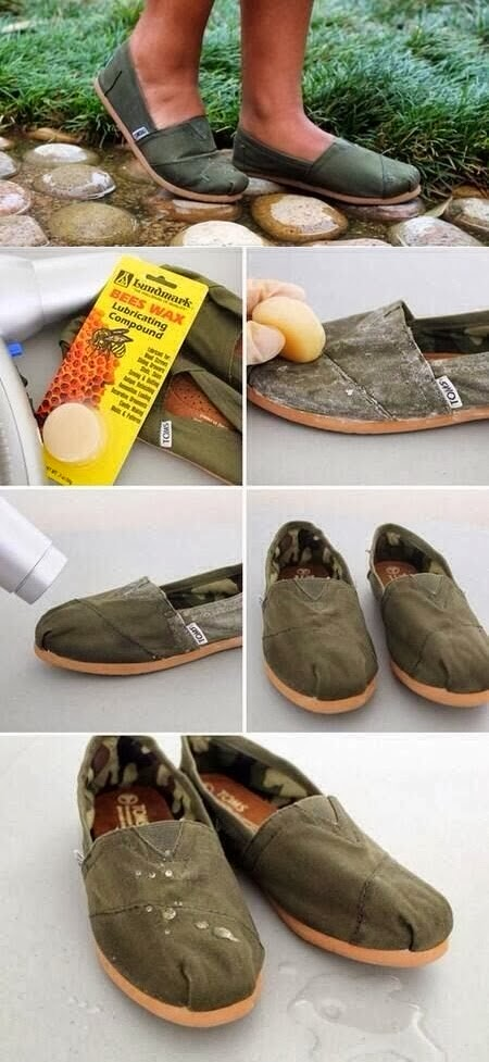 Life Lessons How to Waterproof Your Shoes