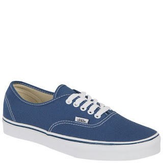 Zapatillas Vans Authentic Lienzo - Azul marino