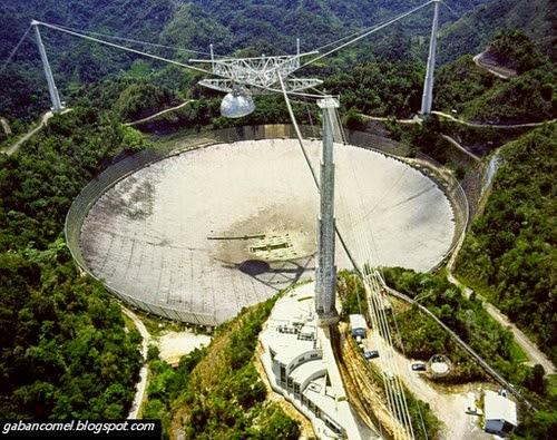 Arecibo Observatory Teleskop Radio Terbesar di Dunia Mampu Hantar Mesej Kepada Alien