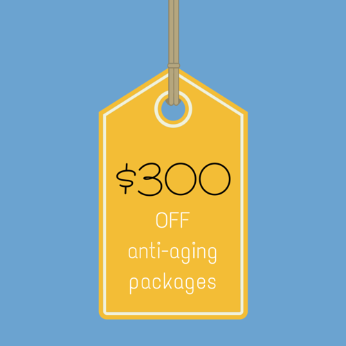 Get $300 off anti-aging packages at SpaMedica!
