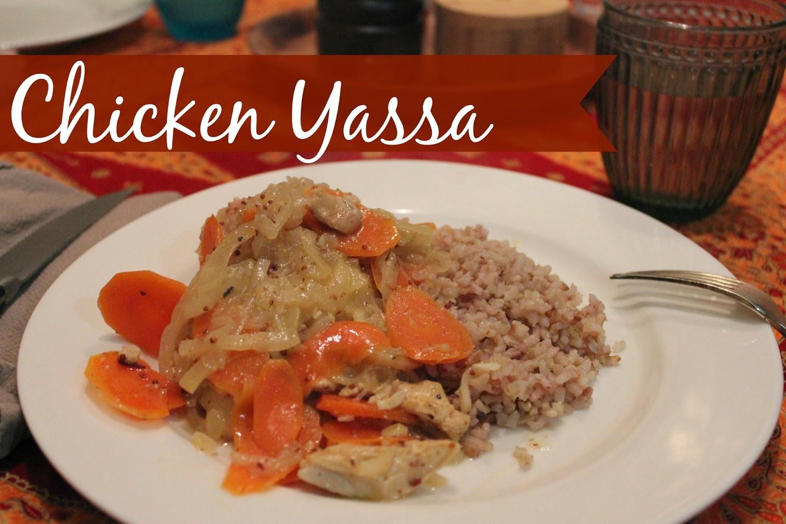 Marie's Pastiche: Recipe for Poulet Yassa   Senegalese Chicken