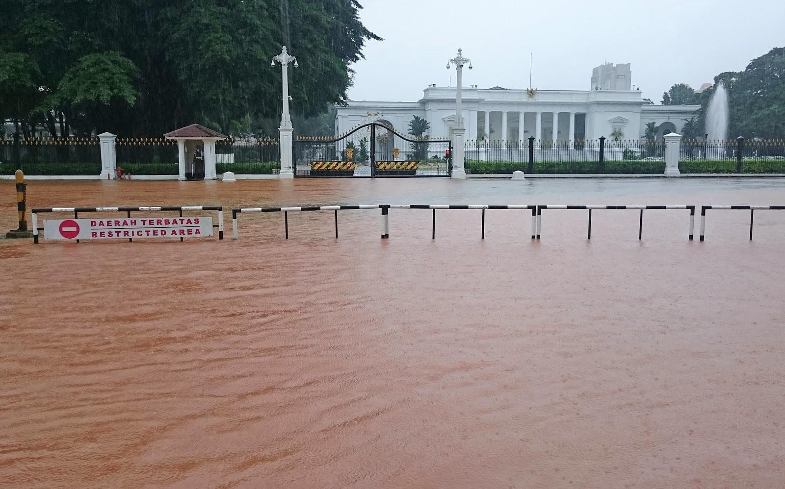 Banjir Jakarta 2015 di Picu Gelombang Dingin dari Siberia