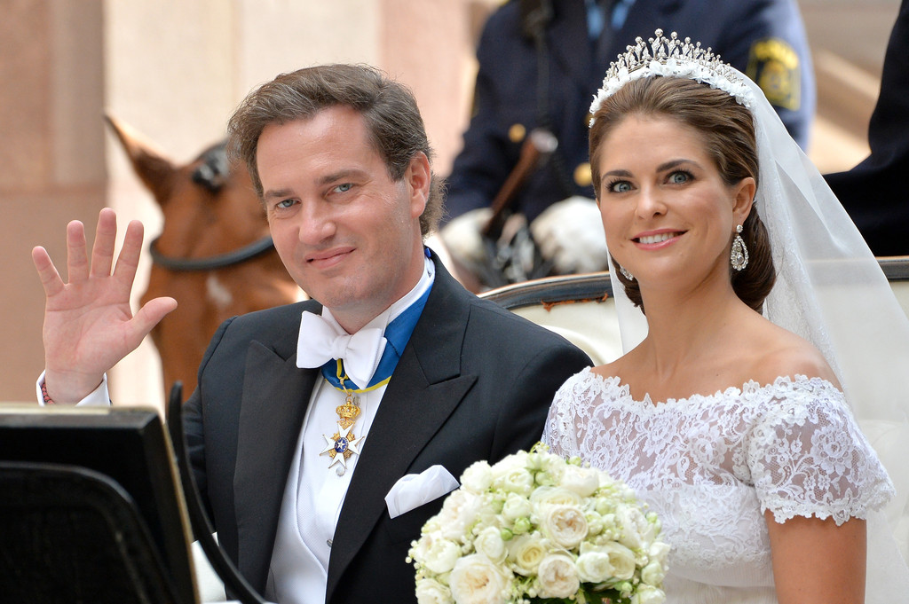 Swedish princess madeleine wedding