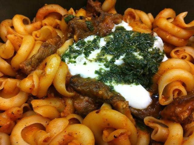 pasta melanzane by Olive