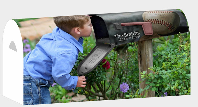 mailbox cover customized mailbox cover mailbox wrap mailbox numbers ...