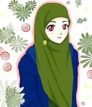Download image Wanita Berjilbab Shared Com Photo Animasi Pelauts PC ...