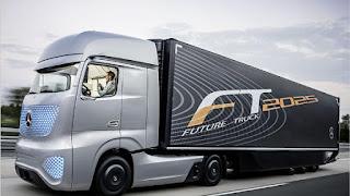 το φορτηγό της Daimler