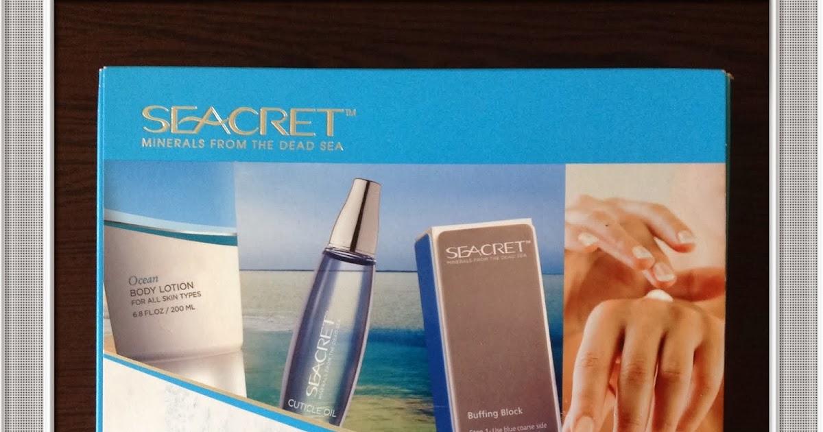 Bugu00fcn Kozmetik Konuu015falu0131m! Seacret Nail Care Collection Set