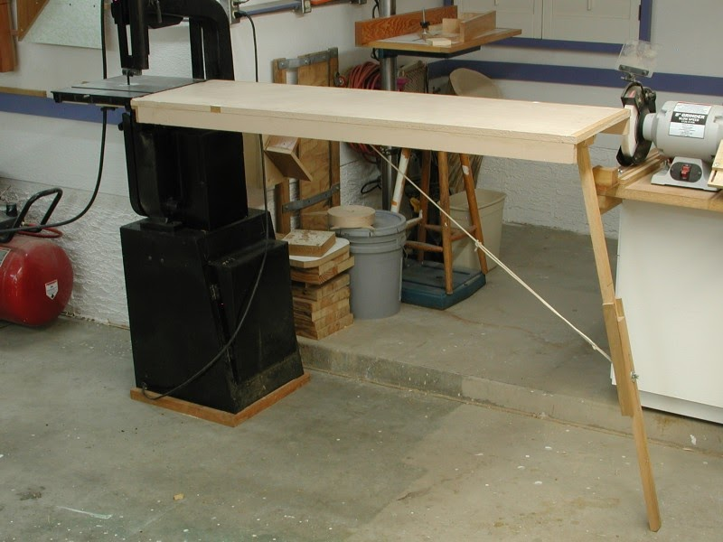 The Sorted Details Bandsaw Outfeed Table