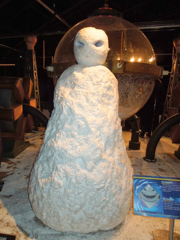 Snowman prop Doctor Who The Snowmen