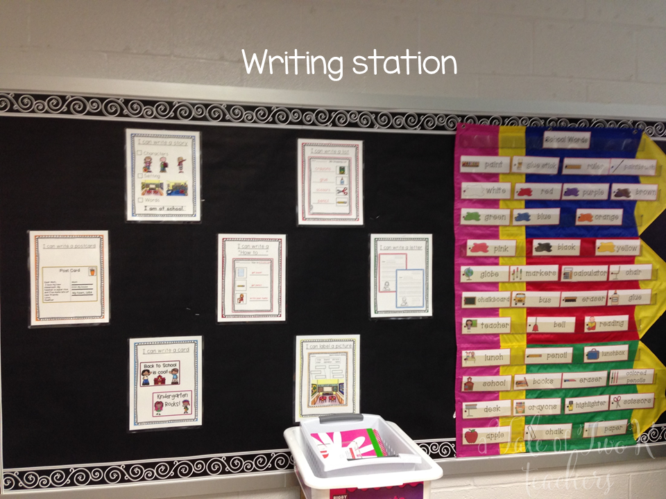 http://www.teacherspayteachers.com/Product/August-September-Writing-Station-720299