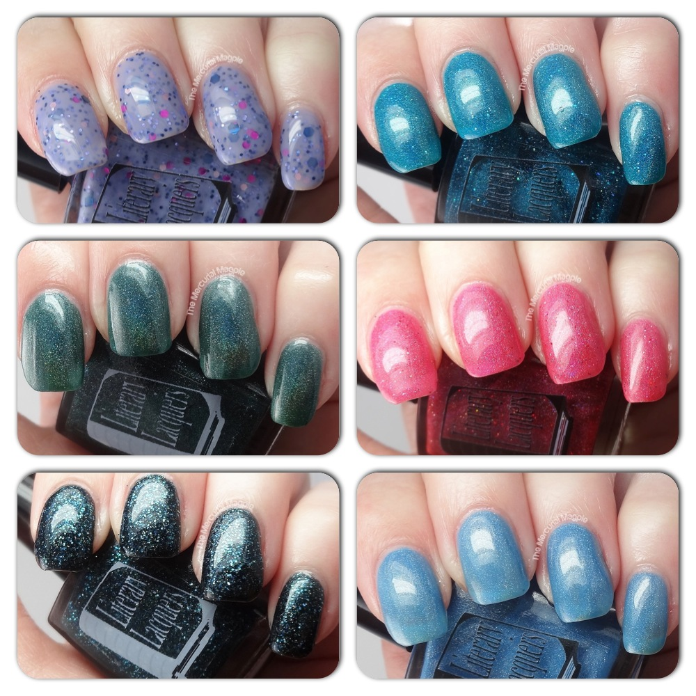 The Mercurial Magpie - Selections from Literary Lacquers  - Swatches & Review