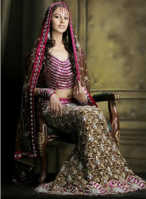 Fashionable Fish Cut Lehnga For Women