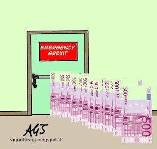 Grexit vignetta satira