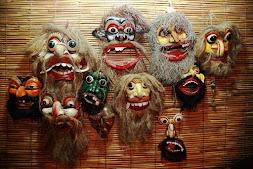 スリランカのアンバランゴダ仮面