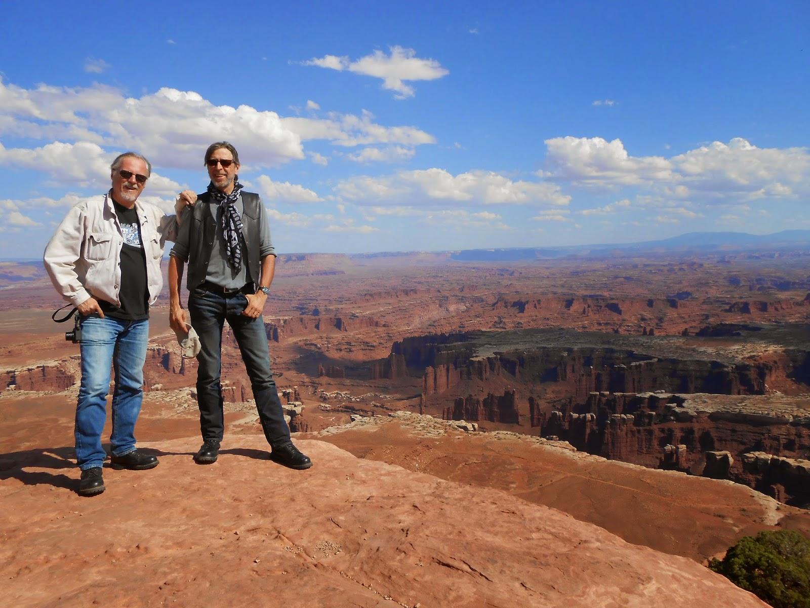 Marc Cuadrado et Frank Margerin aux USA