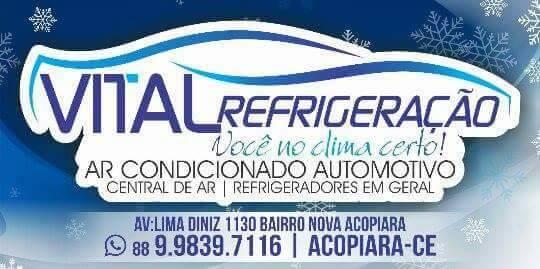 Vital Refrigeração, em Acopiara