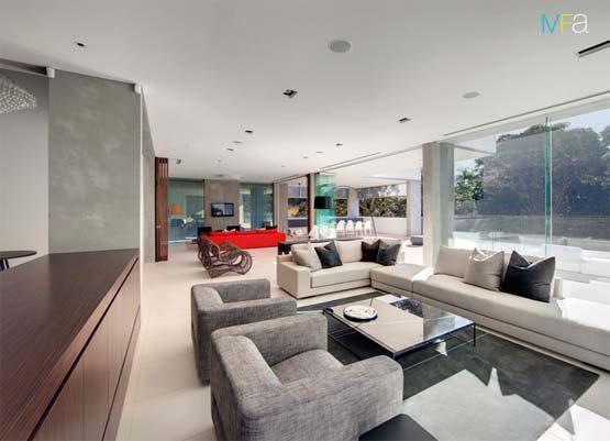 Casas minimalistas y modernas cielorrasos e iluminacion for Cielorrasos de casas