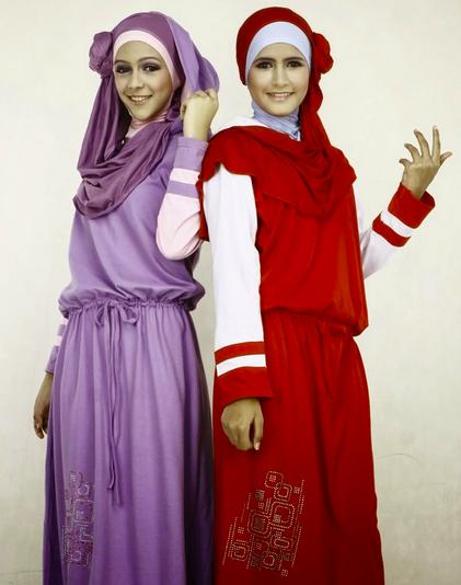 Contoh Gambar Baju Muslim Remaja