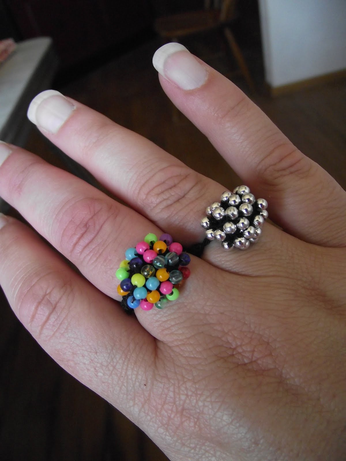 pin from tutorial rings jewellery a to making make beaded ring craftaholique how flower