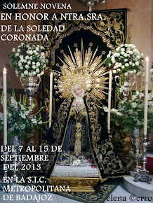 Novena a Ntra. Sra. de la Soledad Coronada