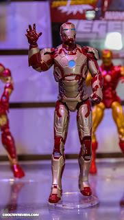 Hasbro 2013 Toy Fair Display Pictures - Iron Man Marvel Legends - Iron Man Mk 42