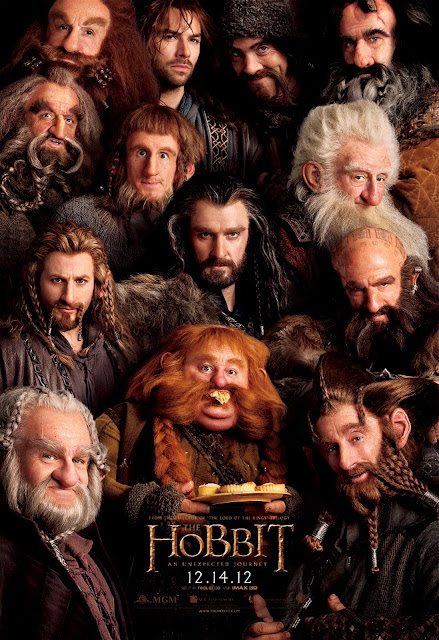 The Hobbit An Unexpected Journey Characters Poster