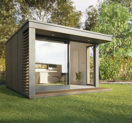 creative garden pod home office. Creative Designs For Backyard Office. British Company Pod Space Makes And Sells Prefabricated Garden Buildings Home Office O
