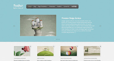 Feather Wordpress Theme