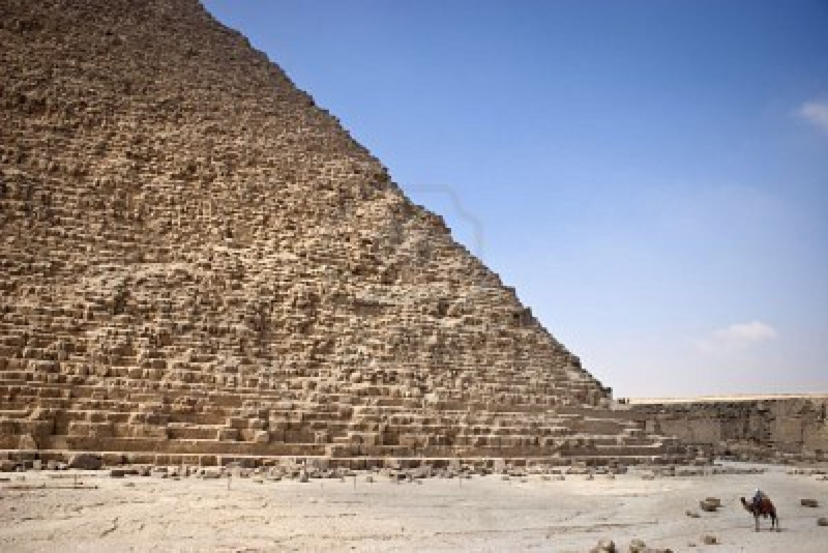 an analysis of the great pyramid of egypt A hidden void has been found inside egypt's great pyramid  tests and  conducting in-depth analysis, the team has announced the discovery a.