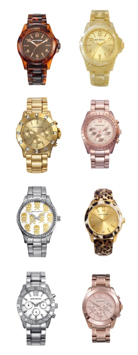 MARK MADDOX : Quiero un reloj delicado, elegante y glamuroso
