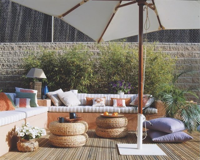 banco de jardim leroy:Recantos de verão ~ Decoração e Ideias – casa e jardim