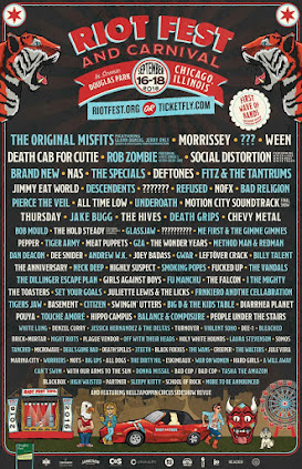 Riot Fest - Chicago, Illinois - 2016