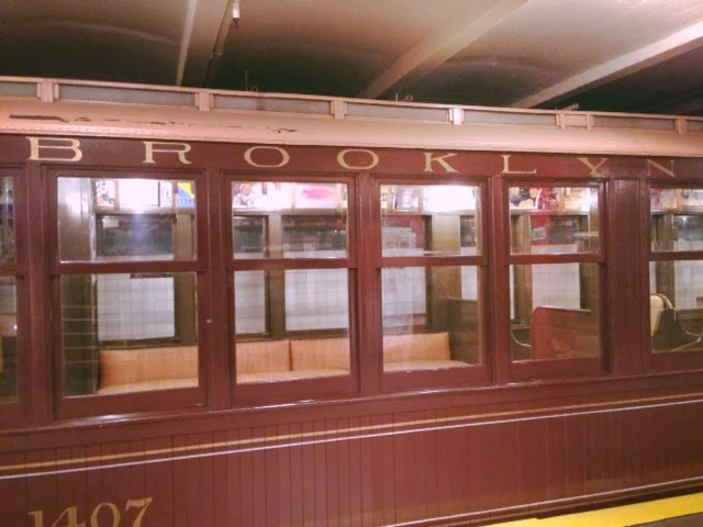 Brooklyn Transit Museum, interesting things to do in New York City, museums in New York, Brooklyn subway system, NYC subways, vintage and old subway train cars, where to see old trains in New York