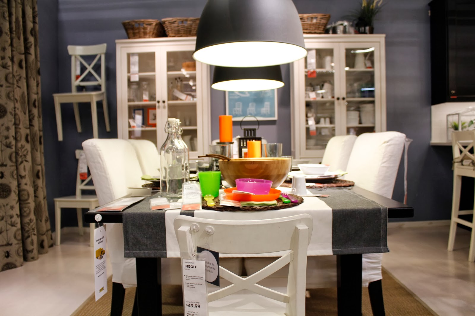 San jose food blog decorating for a dinner party with for Www ikea com palo alto