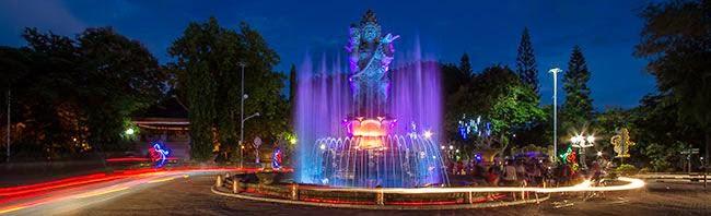 Patung Catur Muka - Denpasar, Informasi wisata