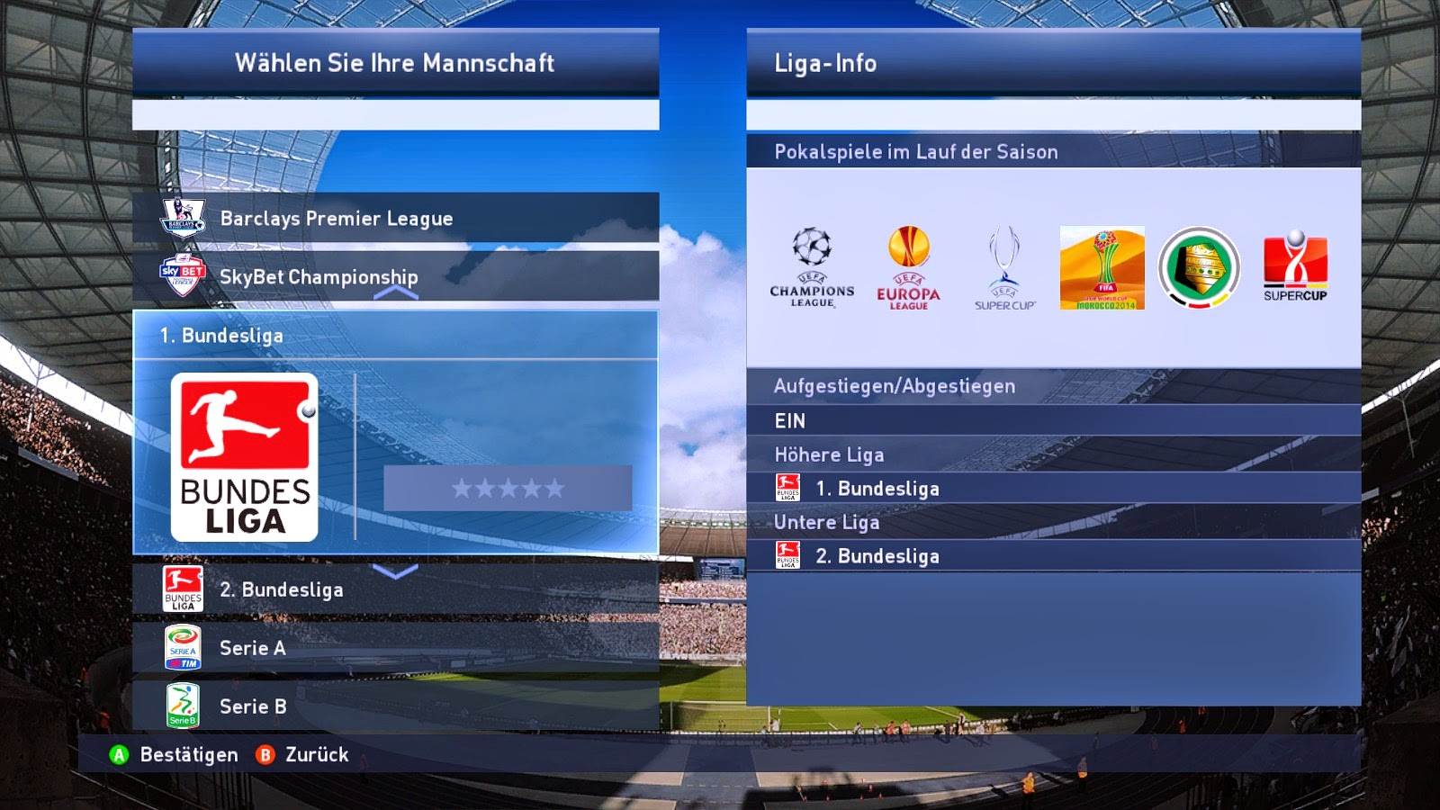 Download PES 2015 Patch dari PESGalaxy Patch 2.0
