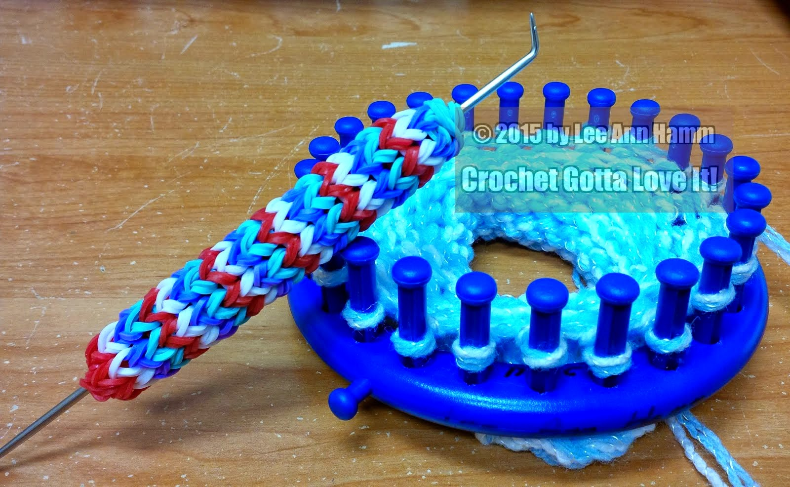 Loom Knitting With Two Colors : Crochet gotta love it! blog: preemie hat donation 208 hats
