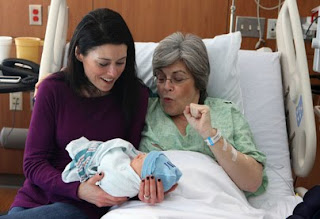 Woman, 61, gives birth to her own grandchild