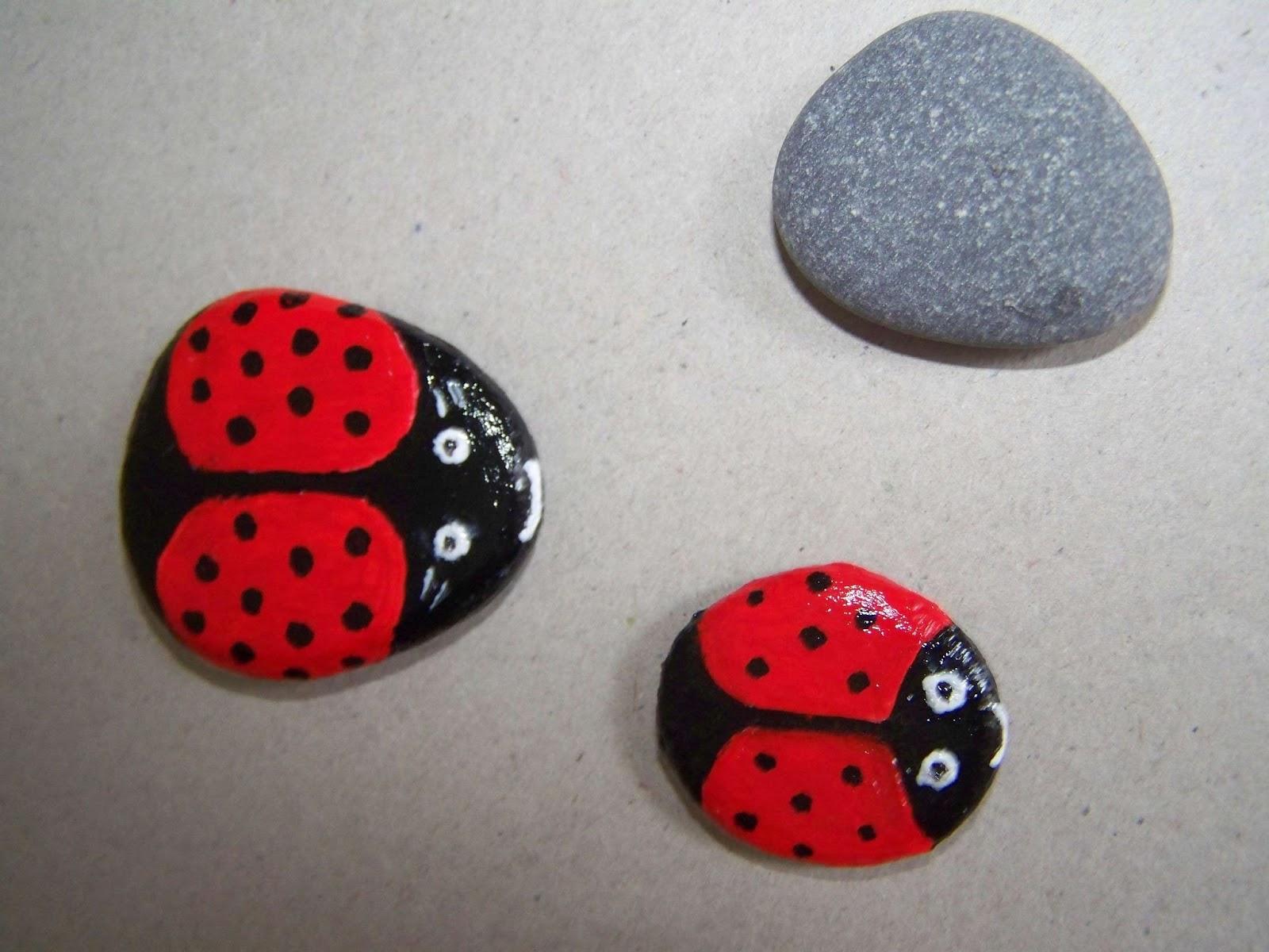 Поделки из камней своими руками фото схемы для детей